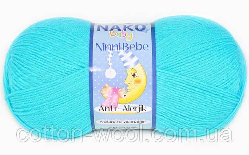 Nako Ninni Bebe (Нако Нини Беби) 3323 антиалергенная детская  пряжа