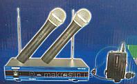 Система 2 ручных радиомикрофона+1головной