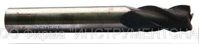 Фреза концевая 8 мм, Z5, ц/х, Р6М5, 63/19 мм