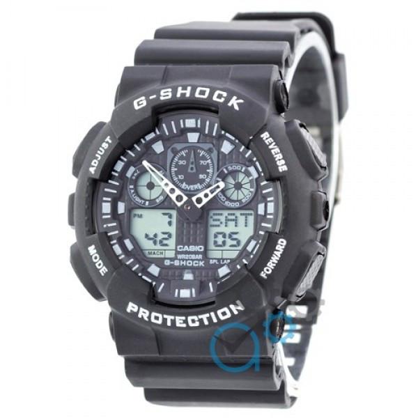 b10c25ec8351 Мужские Наручные Часы Касио , Casio G-Shock GA-100 Black-White — в ...