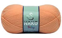 Nako Ninni Bebe (Нако Нини Беби) 1866 антиалергенная детская  пряжа