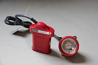 Коногонка світлодіодна SX-0018, шахтарський ліхтарик, 1+6 діодів, більше 30 годин роботи без підзарядки, 2 режими
