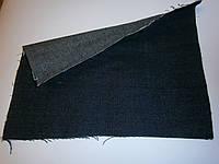 Ткань джинсовая сине-серая плотная №1002