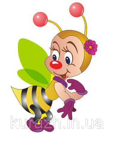 """Стенд для детских рисунков """"Пчёлка"""""""