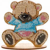 Набор для вышивки бисером Мишка