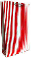 Пакет бумажный подарочный большой вертикальный крафт 41*24,5см W3-12k