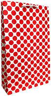 Пакет бумажный подарочный большой вертикальный крафт 41*24,5см W3-3k