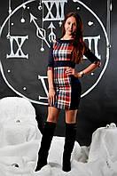 """Молодежное нарядное платье """"Силуэт"""", фото 1"""