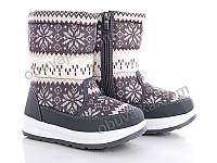 Зимняя обувь Дутики для детей 2018 от фирмы Hengji (31-36)