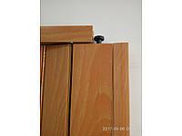 Двери гармошка глухая - цвет вишня. 100% Гарантия качества. Межкомнатные двери гармошка