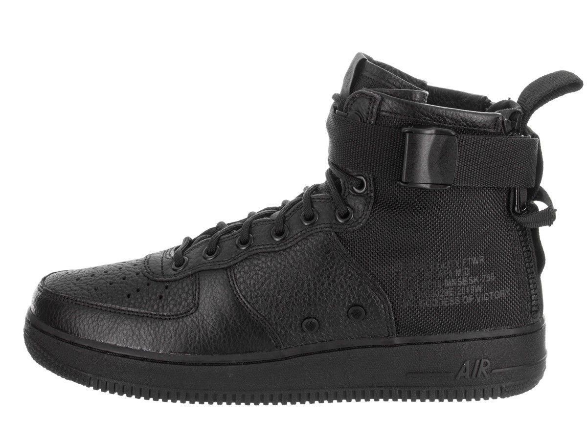 a589a2af878a Кроссовки Nike SF Air Force 1 Mid Black 917753-005 (размер 44,5, USA ...