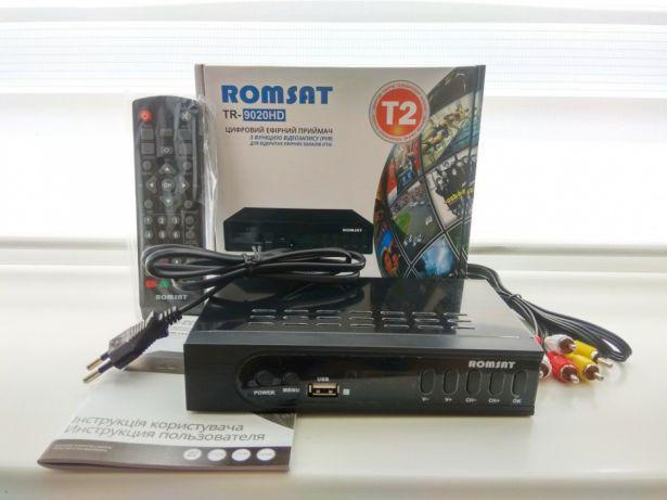 Ресивер наземного вещания Romsat T8020HD