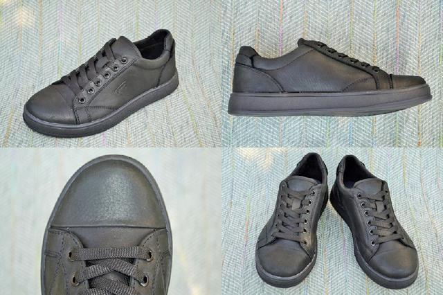 Стильные подростковые туфли на шнурках фото