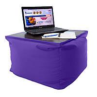Пуф-столик Оксфорд 600D PU Фиолетовый ODT-11