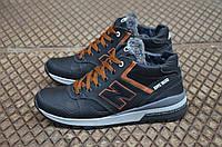 Мужские кожаные зимние кроссовки New balance, фото 1