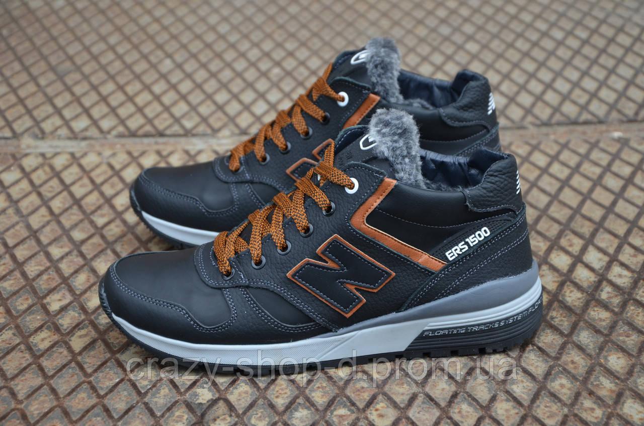 Мужские кожаные зимние кроссовки New balance  продажа, цена в ... 88bf2f317f7