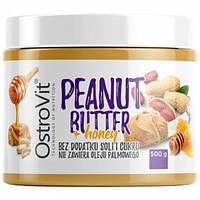 Арахисовая паста OstroVit - Peanut Butter + honey (500 г)