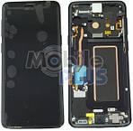 Samsung SM-G960F Galaxy S9 Дисплейний модуль з сенсором, Black, оригінал, GH97-21696A