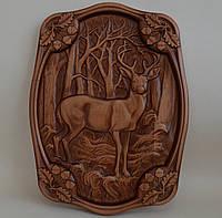"""Резная картина из дерева """"Олень"""", фото 1"""
