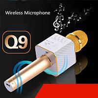 Микрофон Q9 портативный караоке с динамиком , фото 1