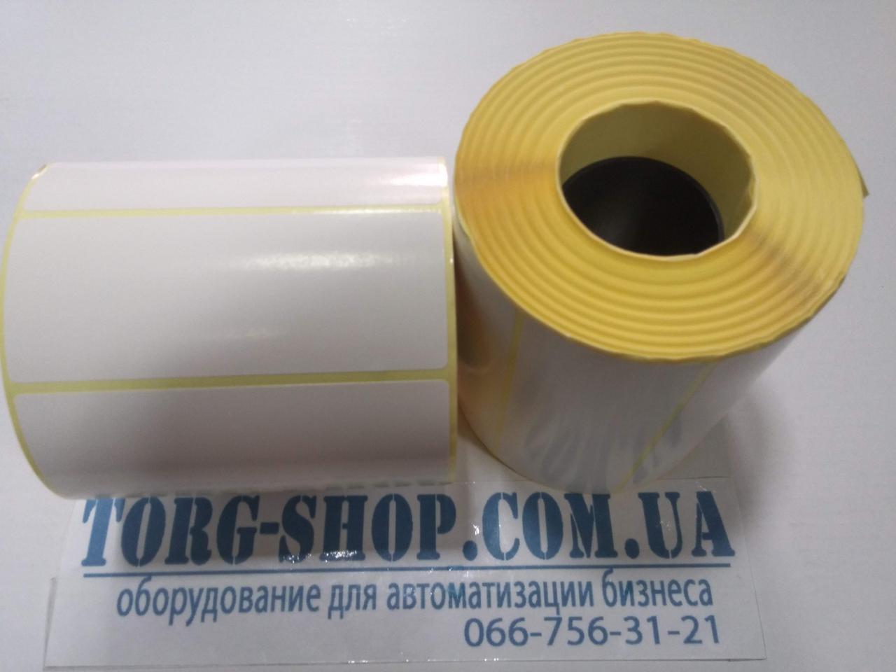Етикетка напівглянсова Vellum 100х40 (1000 шт. в рулоні) втулка 41мм