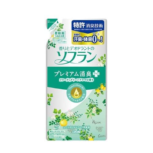 Кондиционер Lion Soflan Aroma Natural с цитрусовым ароматом 480 мл (255147)