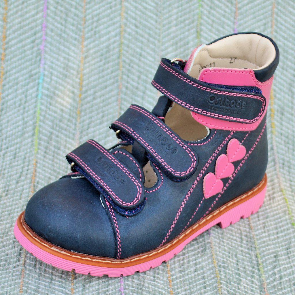 Туфли на девочку, ортопед Orthobe размер 27 28 29 30 31 33