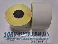 Этикетка полуглянцевая Vellum 58х60 (1000 шт. в рулоне) втулка 41мм, фото 1