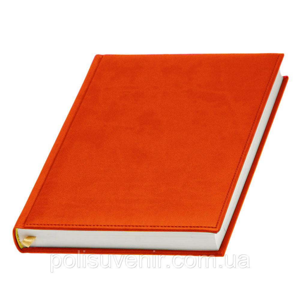 Щоденник 'Принт' датований, кремовий блок А5, фото 1
