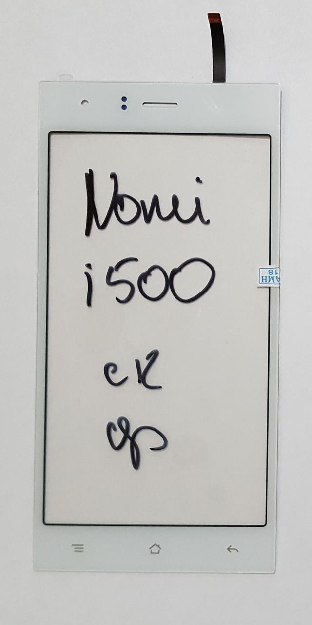 Сенсор (тачскрін) для Nomi i500 Sprint білий