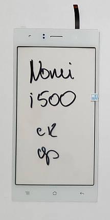 Сенсор (тачскрін) для Nomi i500 Sprint білий, фото 2
