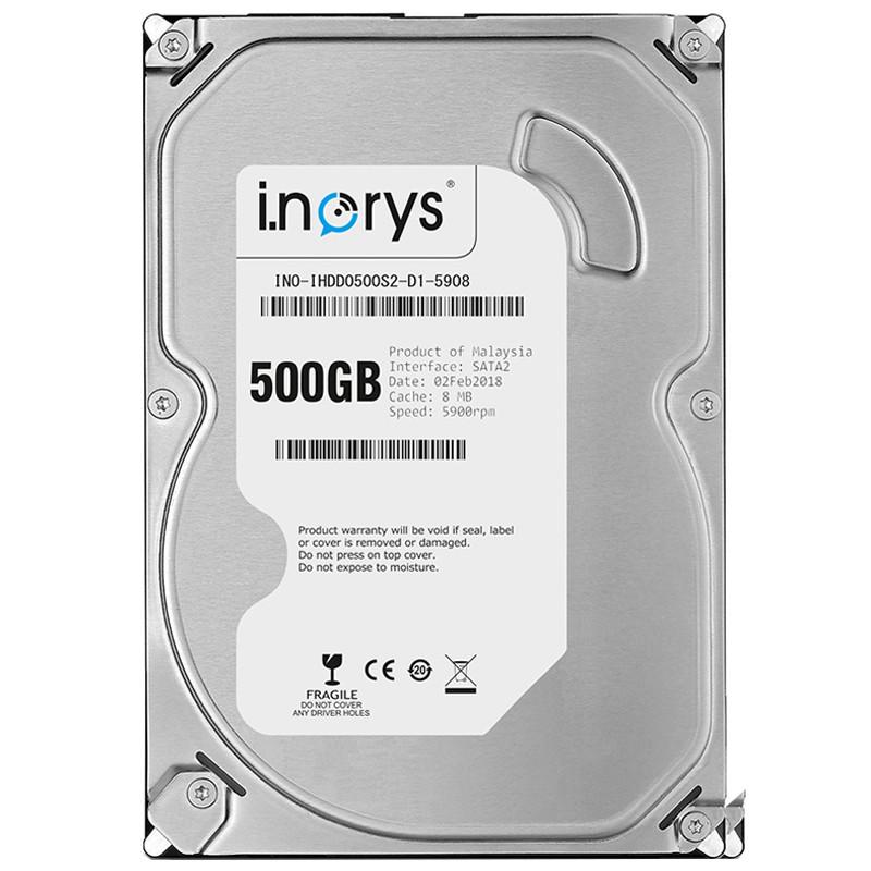 "Жесткий диск i.norys 500GB 5900 rpm 8MB (INO-IHDD0500S2-D1-5908) HDD 3,5"" внутренний для ПК"