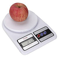 Кухонные электронные весы Kronos SF400 Белые (sp_0370)