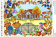 """Схема для вышивки бисером """"Затишна осінь"""""""
