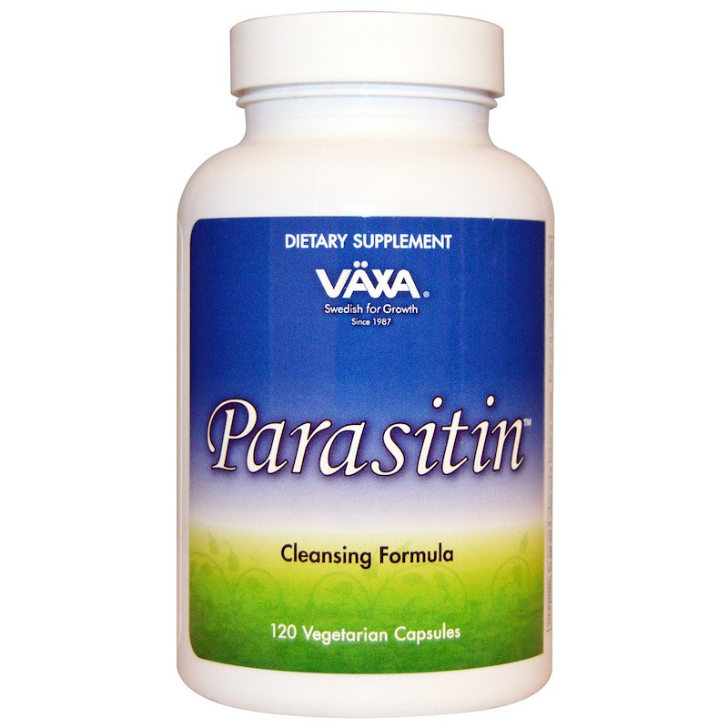 Vaxa International, Parasitin, 120 капсул