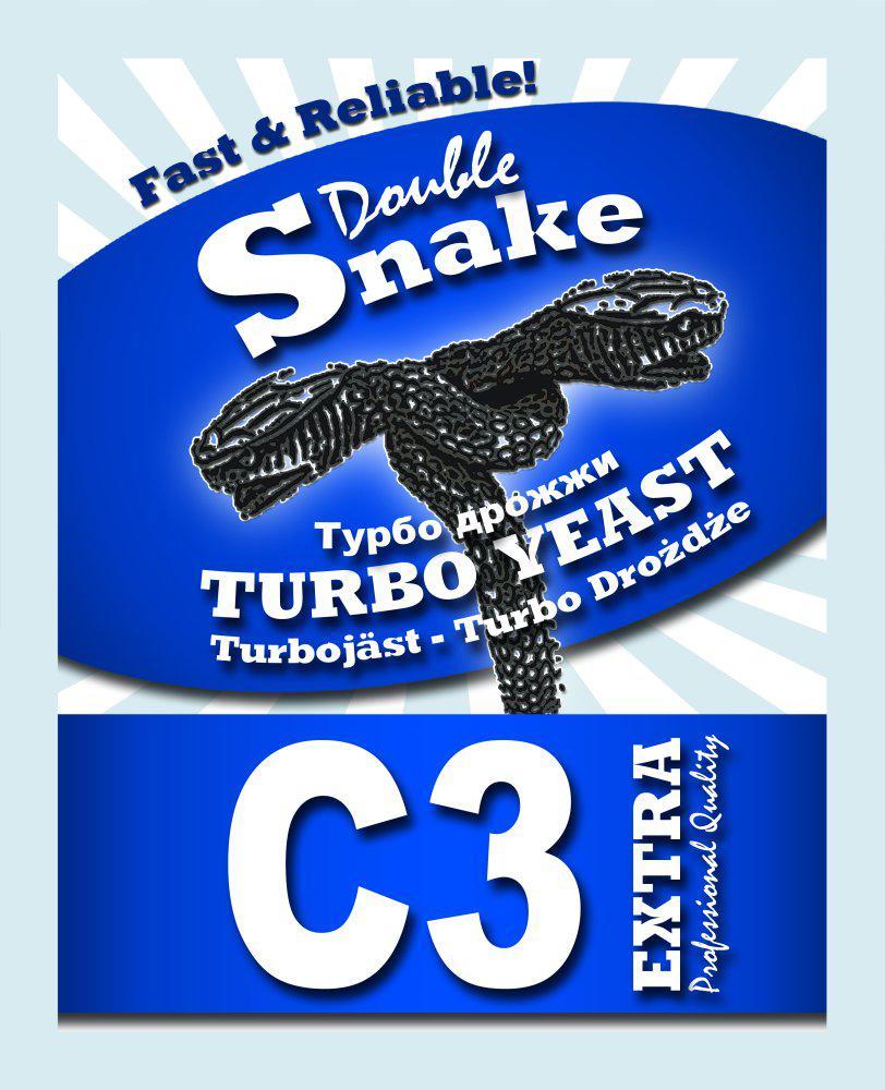 Турбо дрожжи Doble SNAKE C-3 turbo yeast