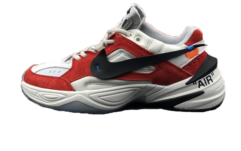1ed9ae41 Мужские Кроссовки Off-White X Nike M2K Tekno White\Red — в Категории ...