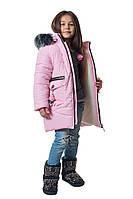 """Зимняя куртка для девочки """"милана """"рост: 104 110 116 122"""