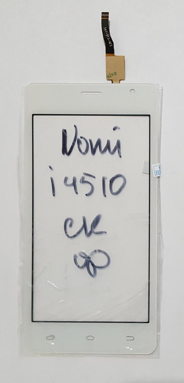 Сенсор (тачскрін) для Nomi i4510 Beat M білий