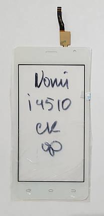 Сенсор (тачскрін) для Nomi i4510 Beat M білий, фото 2