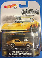 Коллекционная машинка Hot Wheels Corvette Gas Monkey Garage