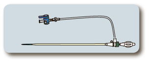 Інтродьюсер з гемостатичну клапаном 12см 8Fr