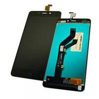 Дисплей ZTE Blade X3 A452 T620 Q519T + сенсор черный (оригинал Китай)
