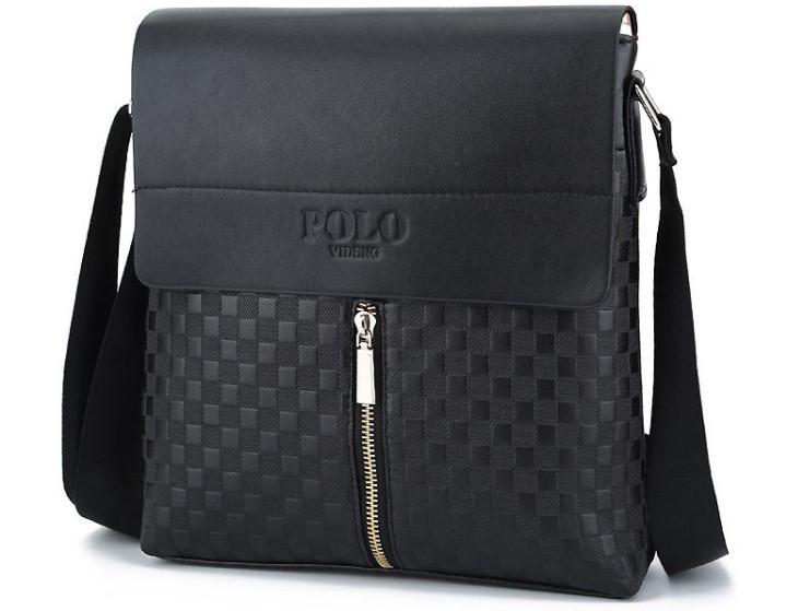 Мужская сумка Polo вариант из замочком