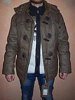 Парка мужская Civicknight коричневого цвета (зима)