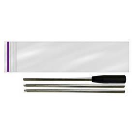 Шомпол алюмінієвий трисекційний для чищення гладкоствольної зброї кал. 12 d=8,0mm l=740mm