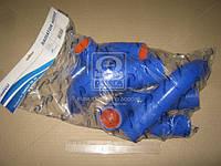 Патрубок радиатора (TP.1323) ГАЗ 3302 (дв.406) (компл. 6 шт. силикон) (TEMPEST)
