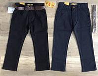 Котоновые брюки для мальчиков оптом, S&D, 6-16 лет,  № XEE-037