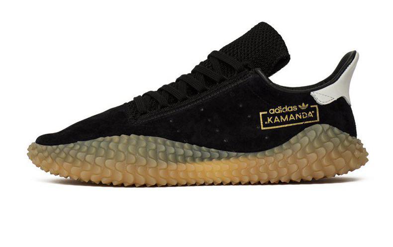 Мужские кроссовки Adidas Kamanda x C.P. Company Black/Gum