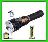 Фонарь светодиодный HL 529 68000 W T6 COB